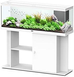 Meuble pour Aquarium/Terrarium Style LED 120 Aquatlantis (blanc)