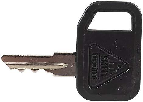 AM131841 AM101600 AM102439 M76975 M73153 Switch Ignition Keys 4pcs for John Deere Front Mower F525 F710 F1145 F510 Tractor LX266 X465 X475 X485 LX172 LX173 LX176 LX178 LX186 LX188 LX255