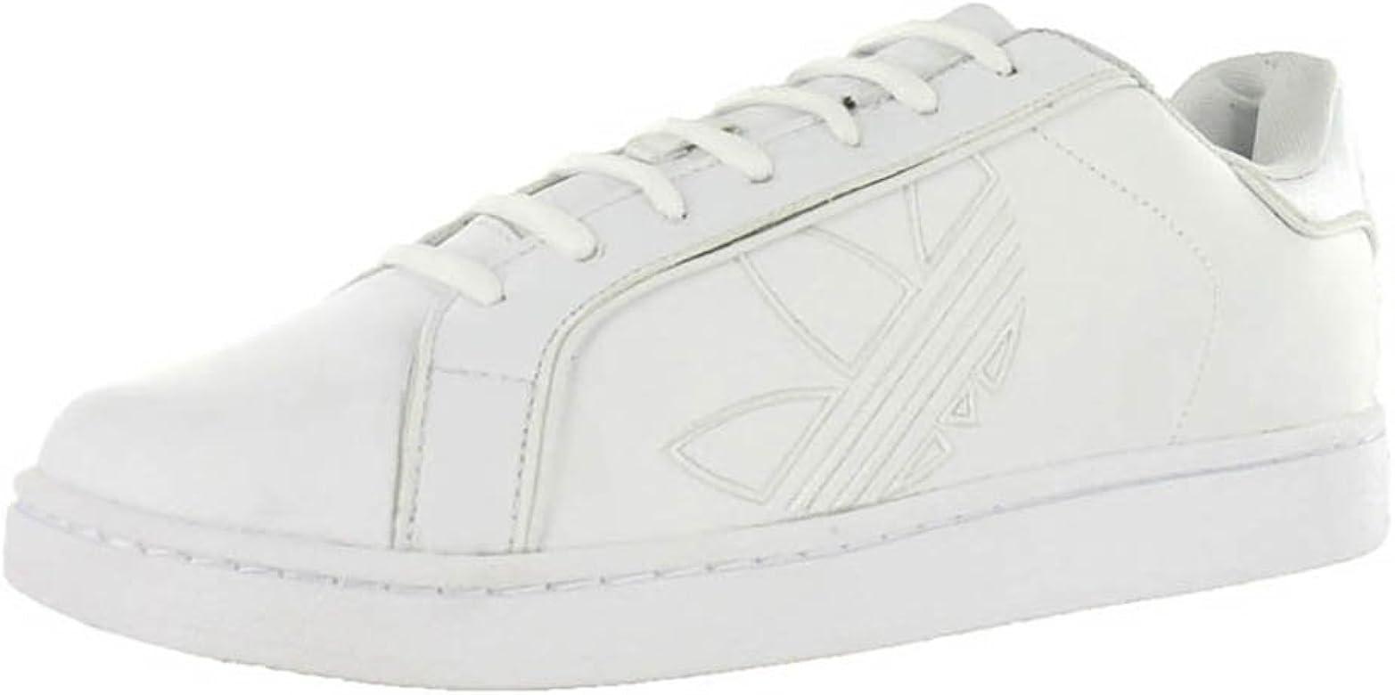 Adidas Hombres Mocasín, White, Talla 10.5: Amazon.es: Zapatos y ...