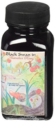 Noodlers Ink 3 Oz Black Swan Australian -