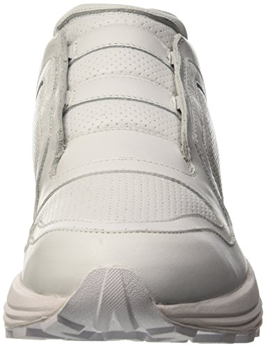 Bikkembergs Trailer 302 Low Shoe M Leather, Men's Flatform Pumps White (White)