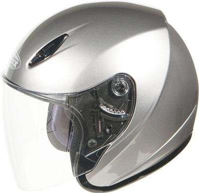 G-Max GM17 SPC Limited Production Helmet , Color: Dark Silver Metallic - Md Spc