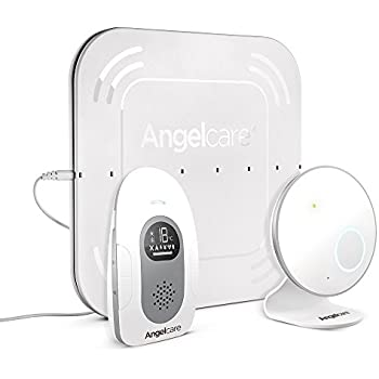 Angelcare Baby Monitor with Audio & Movement Sensor Pad (AC115)