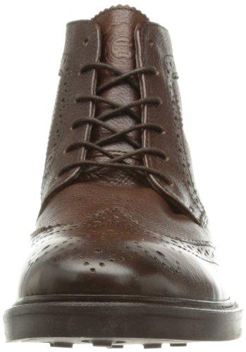 Base London Brocket - Zapatos de Cordones de cuero hombre marrón - Marron (Brown Grain)