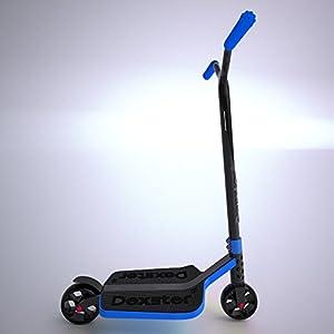 Dexster Wide Deck Kick Scooter - Blue