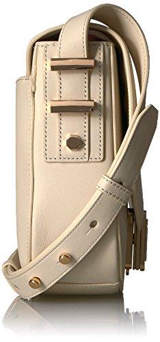Brulee Marianne Saddle LUANA ITALY Bag Cr��me qXEzg