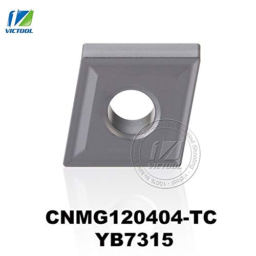 Price comparison product image 1 lot CNMG120404-TC YB7315 for K type material tungsten carbide turning insert CNC tool CNMG120404 CNMG 120404 CNMG432