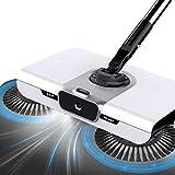 Manual Sweeper, Carpet Floor Cordless Sweep-Up Sweeper - Including Broom & Dustpan