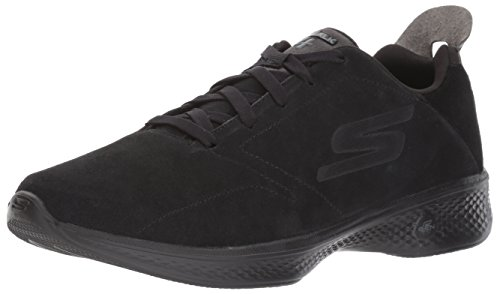 Skechers Performance Women's Go 4-14913 Walking Shoe, Black, 7.5 M US