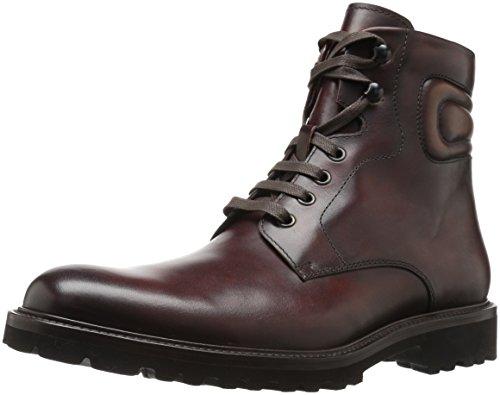 Magnanni Men's Wayde Engineer Boot - Mid Brown - 13 D(M) US