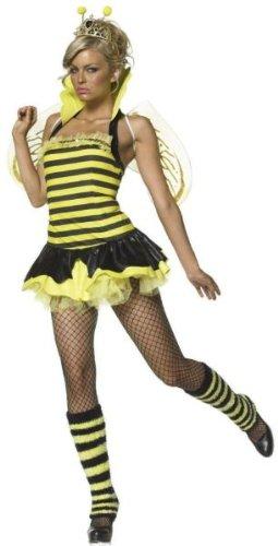 Queen Bumble Bee Adult Costume - Small/Medium (Queen Bee Costumes Accessories)