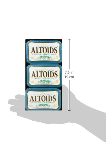ALTOIDS Classic Wintergreen Breath Mints, 1.76-Ounce Tin (Pack of 12) by Altoids (Image #12)
