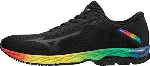 Mizuno Wave Shadow 3 Mens Running Shoes - Black-11: Amazon.es ...