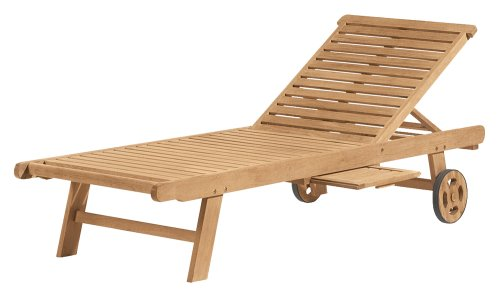 - Oxford Garden Shorea Chaise Lounge | 100% Tropical Shorea Hardwood Outdoor Furniture