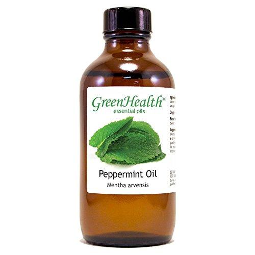Peppermint 100% Pure Therapeutic Grade Essential Oil- 4oz (Oil Pure Essential Uncut)