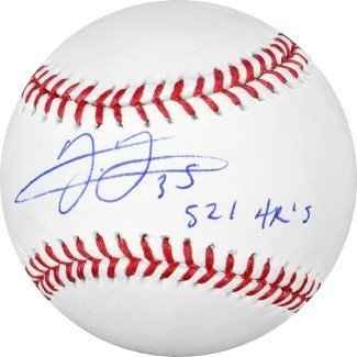 c486629602c Frank Thomas Signed Autograph Official Major League Baseball 521 HRs -  Chicago White SoxToronto Blue Jays