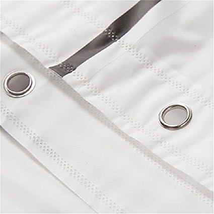bouti1583/- cortinas de ducha o ba/ñera gran selecci/ón 120//150//180//200//240/x 200/cm incluido anillas a cuadros 150 x 200cm