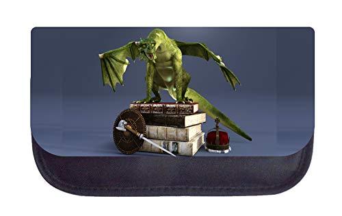 Dragon on Books School Bag Set