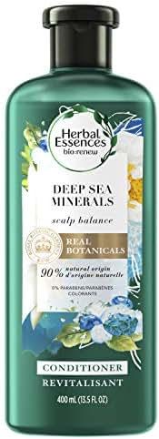 Shampoo & Conditioner: Herbal Essences Bio:Renew Deep Sea Minerals