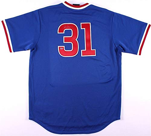 Greg Maddux Autographed Signed Memorabilia Chicago Cubs Jersey Schwartz Coa 4 X Cy Young Award Winner - Certified Authentic