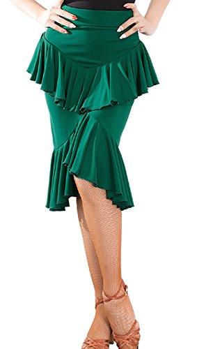 CHAGME Green Femme Plisse Jupe Jupe Jupe Plisse Femme CHAGME Plisse Green CHAGME 7w0qF0AT