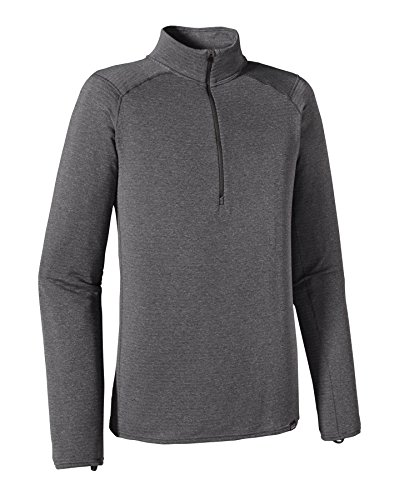 Patagonia Capilene Thermal Weight Zip Neck - Men's Forge Grey/Feather Grey X-Dye ()
