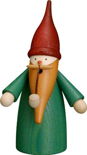 Dregano Green Gnome Smoker Hand Made in (German Wood)