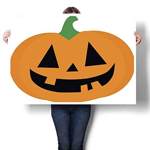 Poster Prints Halloween Pumpkin Decorative Fine Art Canvas Print Poster K 20