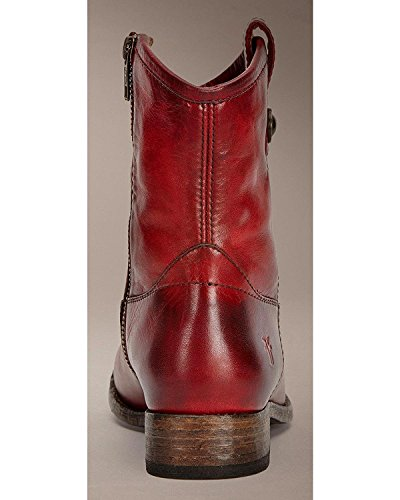 Burgundy Antique Washed Short 7 up B FRYE Melissa M Women's Boot Button Pull 6xYwxFIq