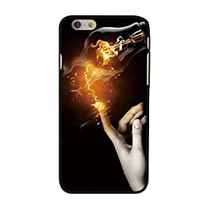SHOUJIKE Finger and Fire Style Plastic Hard Back Cover for iPhone 6