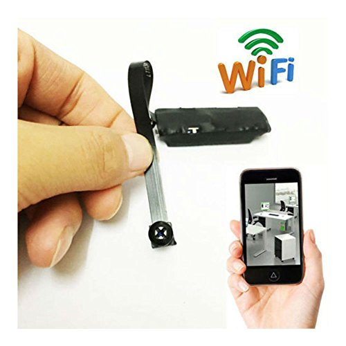 Wireless Spy Nanny Cam WIFI IP Pinhole DIY Digital Video Camera Mini Micro Dvr (Mini Cam With Dvr)