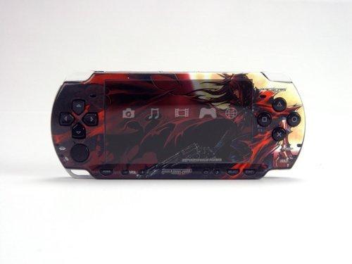 Final Fantasy VII Advent Children PSP (Slim) Dual Colored Skin Sticker, PSP - Advent Children Psp