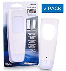 If you are looking for a reliable, multi-use lighting solution for your home, look no further. Westek LED Power Failure, Flashlight and Battery Back-Up Night Light is a rechargeable, portable and multi-function LED light. Designed with practi...