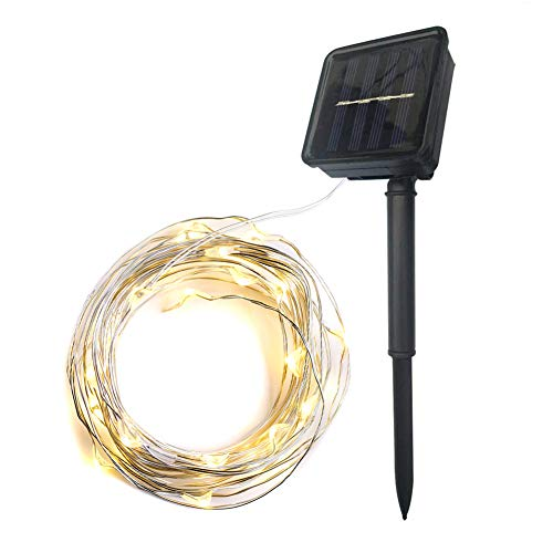 Abba Patio Solar String Lights, 32ft 100...