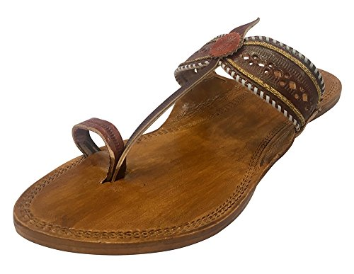 Step Kolhapuri Chappals Indian Style Chappal Womens Slipper Leather n Sandals Ladies Sandals Kolhapuri Kolhapuri rwRrOn