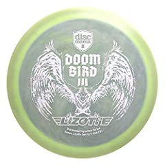 Discmania Limited Edition Signature Simon Lizotte Doom Bird III Swirly S-Line FD3 Fairway Driver Golf Disc [Colors May Vary] - 173-175g