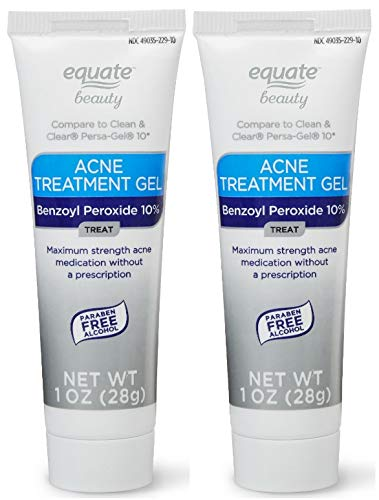 Amazon Com Equate Beauty 10 Benzoyl Peroxide Acne Treatment Gel