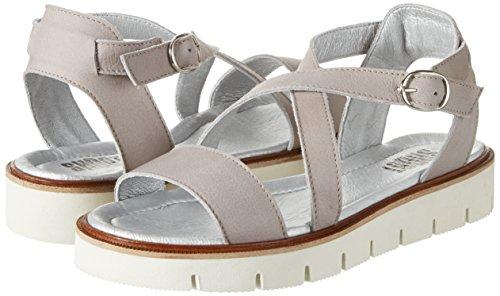 Open Sandals Toe 10 Gray 40 Shoot Akoya perla Eu Sandale Women's qxw4wEI