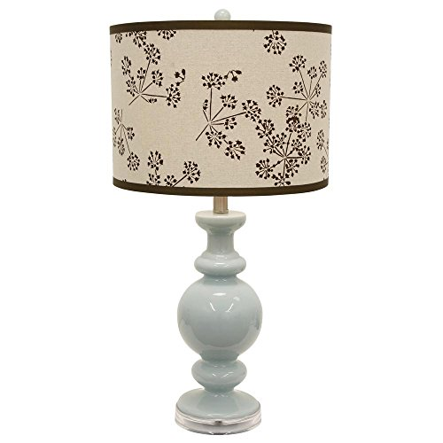 Décor Therapy TL16194 Table Lamp, Spa Blue by Décor Therapy