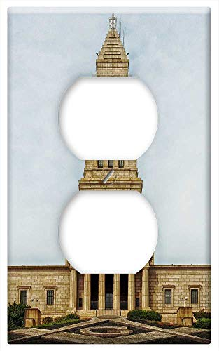 (Switch Plate Outlet Cover - Masonic Temple Washington Tower Architecture)