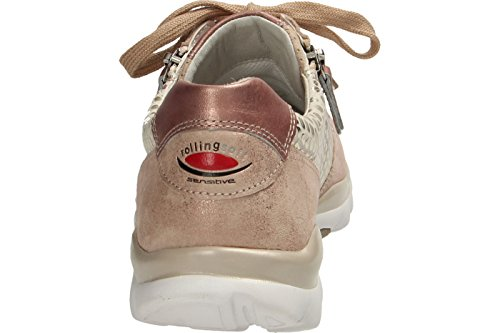 Gabor Shoes Rollingsoft, Zapatillas para Mujer rose/rame