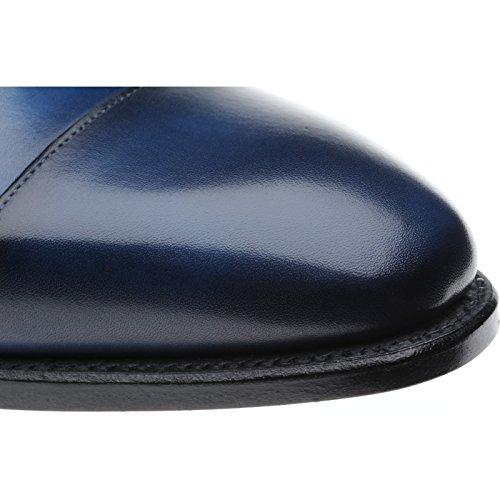 Herring Herring Dickens - Zapatos de cordones para hombre azul Navy Calf