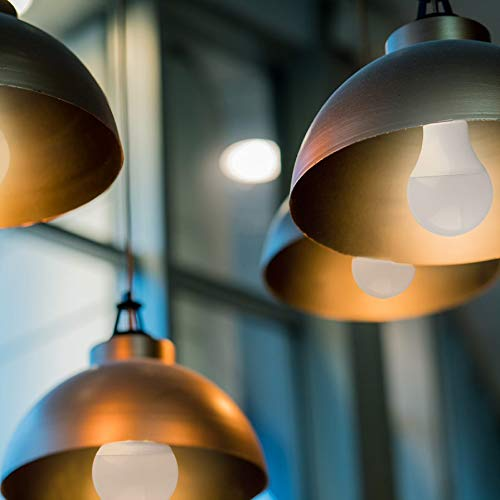 9W LED Light Bulbs - Simply Conserve | A19 Dimmable LED Lightbulbs 9W Light Bulb (60W Equiv.) 2700K - JA8 CA Compliant | 6 Pack (L09A1927K-JA8)