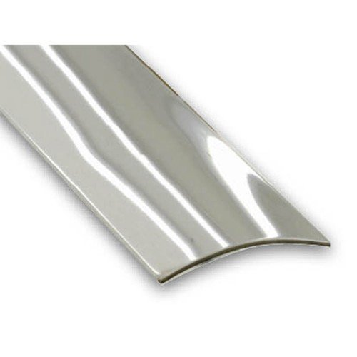 Stainless Steel Self-Adhesive Flooring Threshold Strip - 30mm x 730mm CQFD