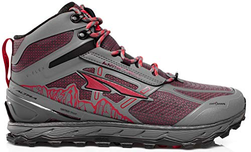Altra Men's Lone Peak 4 Mid RSM Waterproof Trail Running Shoe, Gray - 13 D(M) US
