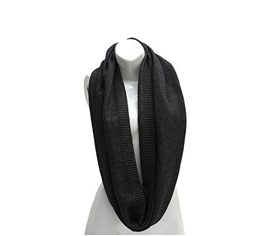 color para de mujer Tejer oscuro de lana Aiklin s Bufanda gris bufanda 7xZg8t6xB