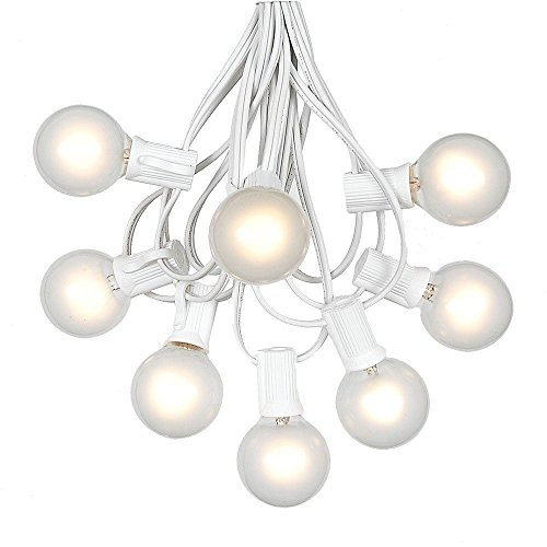 Frosted Bulb Outdoor String Lights