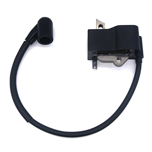 Ignition Coil Plug Wire - NIMTEK New Ignition Coil Module 545046701 for Husqvarna 125 128 Series Edger Brush Cutter