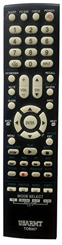 Price comparison product image NEW Smartby replaced Toshiba Universal TV and DVD Blu-ray Remote For SE-R0295 SE-R0313 SE-R0418 CT-847 CT-8037 CT-90275 CT-90302 CT-90325