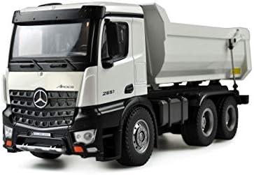 Amewi 22413 wit Mercedes vrachtwagen Kipper PRO metaal 24GHz RTR